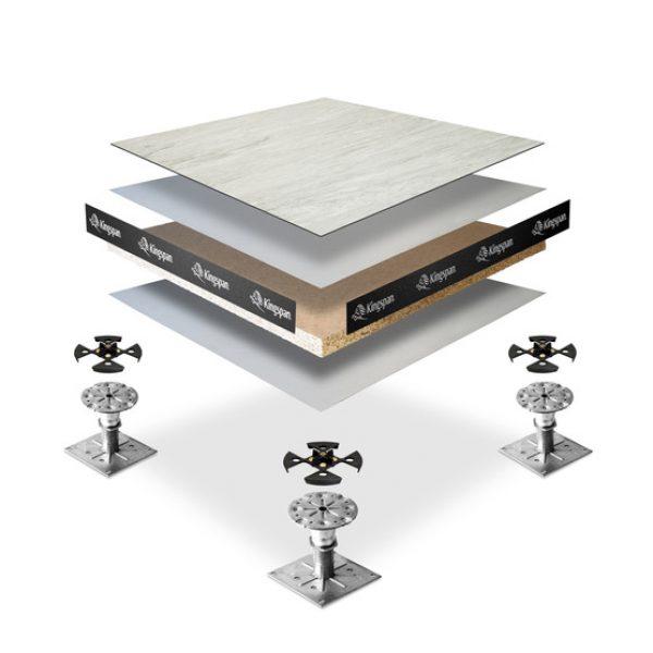 Raised Access Floor Tiles